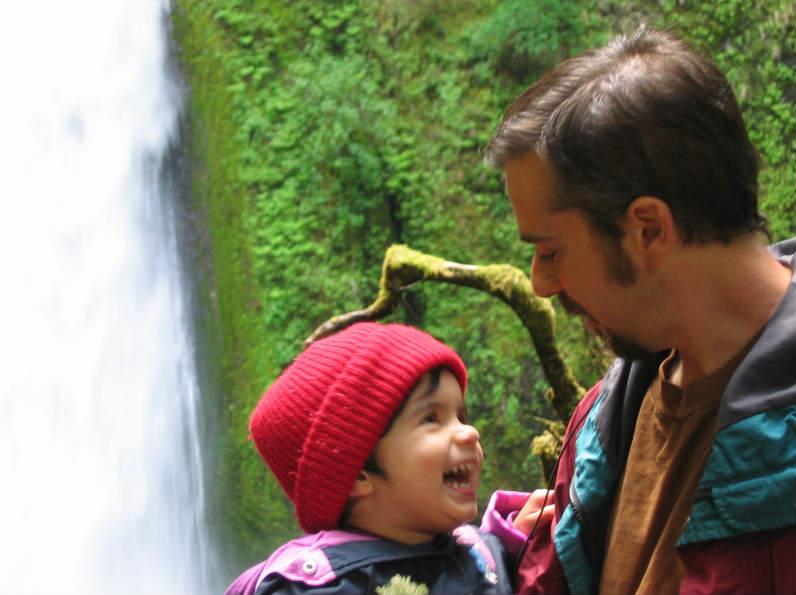 Portland Oregon Divorce Mediator Stuart Watson and child